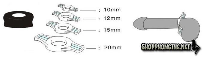 Máy massage tăng kích thước cậu nhỏ Louge chính hảng